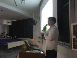 講演後、良い質問が学生さんからたくさん出て嬉しかったです