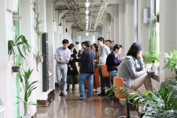 Fukuoka Growth Nextは小学校跡地に作られました(写真提供:Fukuoka Growth Next事務局)